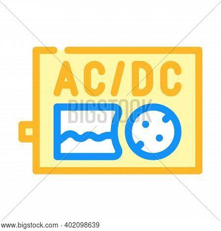 Inverter Electric Equipment Color Icon Vector Illustration