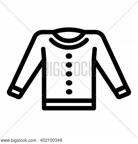 Official School Uniform Icon. Outline Official School Uniform Vector Icon For Web Design Isolated On