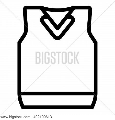 Student Uniform Icon. Outline Student Uniform Vector Icon For Web Design Isolated On White Backgroun