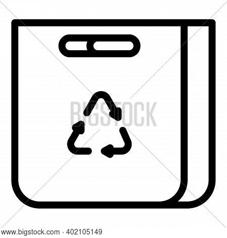 Reuse Pack Icon. Outline Reuse Pack Vector Icon For Web Design Isolated On White Background