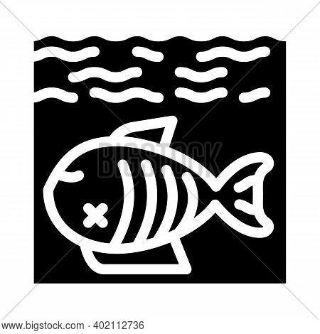 Environment Harm Glyph Icon Vector Illustration Black