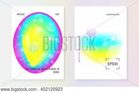 Fluid Dynamic. Cosmic Layered Hologram. Soft Certificate. Cosmic Design. Futuristic Background. Mode