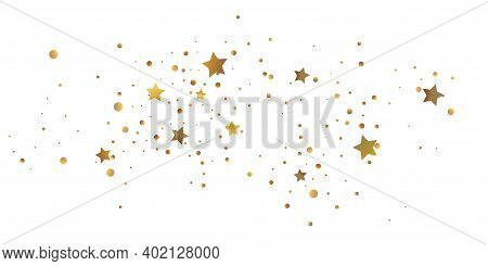 Abstract Star Of Confetti