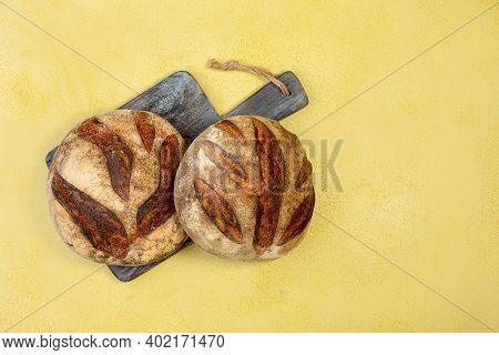 Artisanal Wheat Bread With Sourdough.