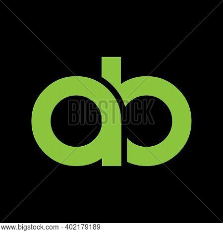 Prinletters A B, A&b Joint Logo Icon With Business Card Vector Template.t