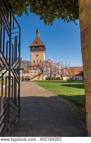 Siebeldingen, Germany - March 27, 2019. Geilweilerhof, Institute For Grape Breeding, German Wine Roa