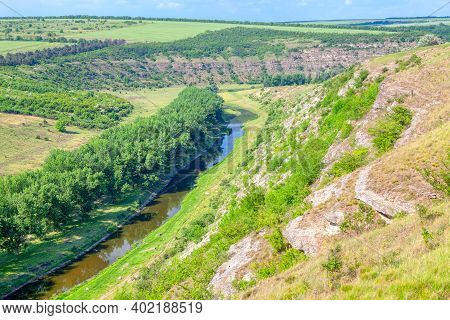 Spectacular Aerial Riverside View . Green River Valley
