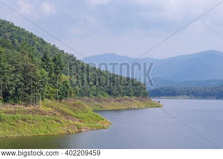 Relax And Enjoy Beautiful Scenery At The Mae Ngat Dam And Reservoir Is Part Of The Sri Lanna Nationa