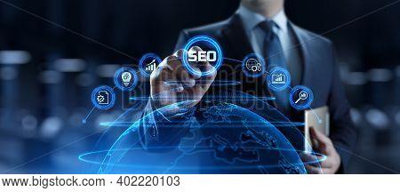 Seo Search Engine Optimisation Digital Internet Marketing Concept.