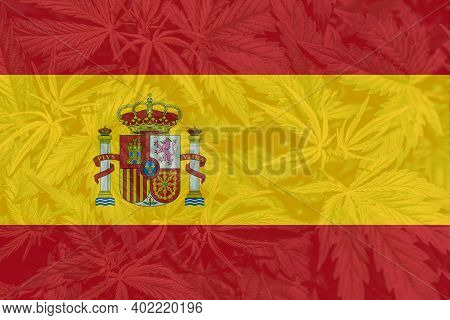 Medical Cannabis In The Spain. Weed Decriminalization In Spain. Cannabis Legalization In The Spain.