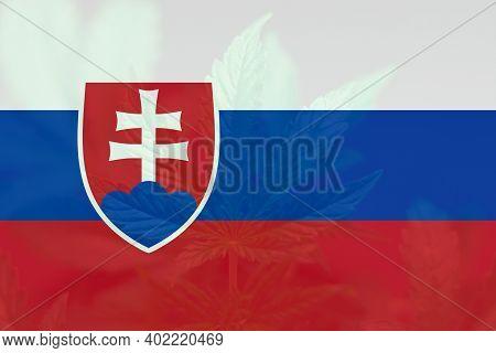 Weed Decriminalization In Slovakia. Cannabis Legalization In The Slovakia. Medical Cannabis In The S