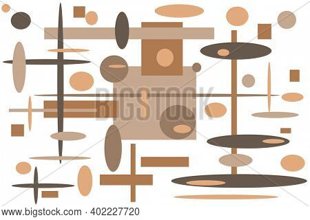 Beautiful and modern colorful pattern