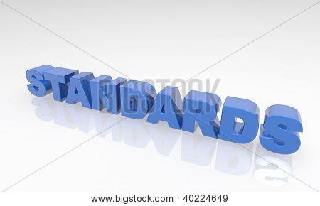 Buzzword standards 3d Text