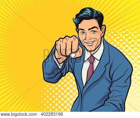 Business Man Excited Hold Hands Up Raised Arms, Businessman Concept Winner Success