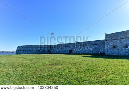 Fort Adams, A Formerunited States Armypost Innewport, Rhode Islandthat Was Established On July 4