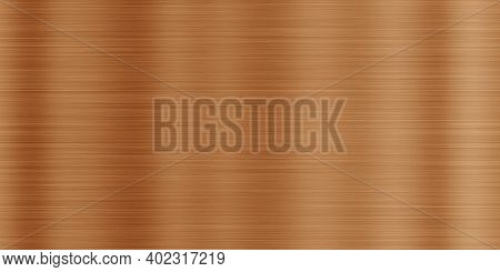 Seamless Bronze Polished Surface Background. Bronzed Texture.