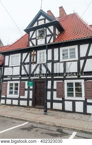 Puck, Poland - September 20, 2020: Museum Of The Puck Land.