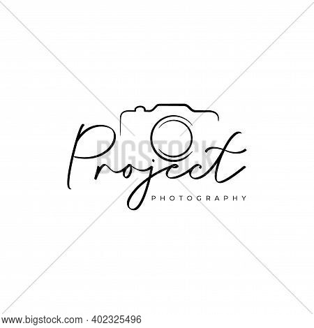 Photography Studio Logo. Photography Artist Logo Design Vector