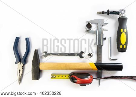 Tools For Construction And Household Repairs.