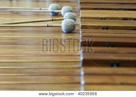 music wood xylophon
