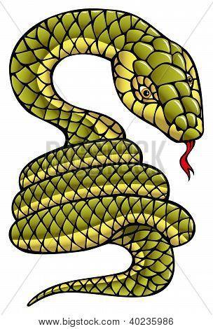 Snake, symbol of coming year