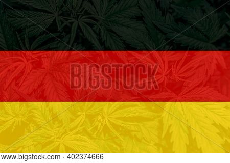 Weed Decriminalization In Germany. Cannabis Legalization In The Germany. Medical Cannabis In The Ger