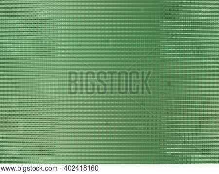 Green Background With Abstract Stripes. Pattern Of Blurred Green Lines. Abstract Green Texture. Gree