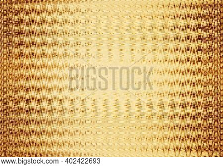 Gold Abstract Background With Bright Spots. Shining Background. Creative Bright Golden Texture. Gold