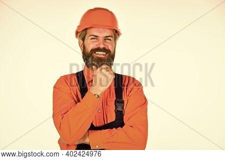 Skillful Worker. Electrician Plumber Handyman. Repairman. Construction Worker. Renovation Concept. M