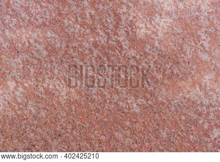 Natural Polished Stone, Red Granite Background. Granite Texture. Rock