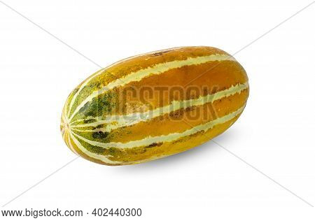 Muskmelon An Isolated On A White Background
