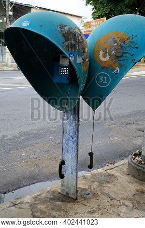 Defective Public Telephone