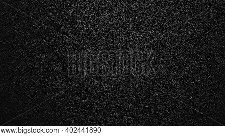 Black Braided Wire Background, Braid Texture, Abstract Background.