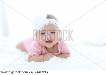 Portrait Asian Female Baby