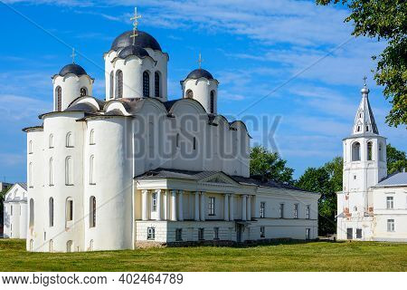 Novgorod The Great, St. Nicholas Dvorischensky Cathedral (the Cathedral Of St. Nicholas In Yaroslav'