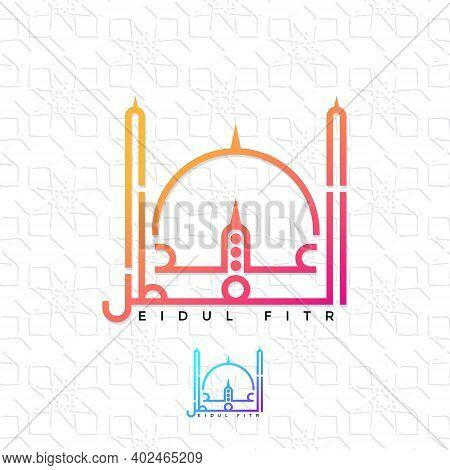 Eid-al-fitr Mubarak Greeting Card Background, Invitation Card, Poster.