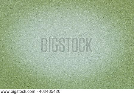 Texture Of Granite Light Green Color With Small Dots, With Vignetting.