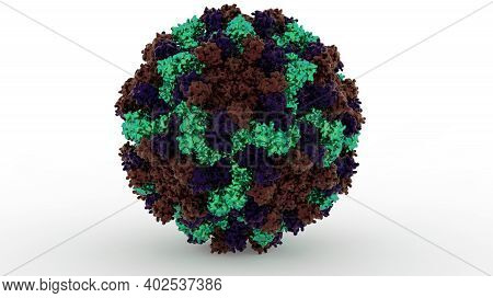 2019_ncov Covid-19 Virus Real Protein Structure 3d Visualisation