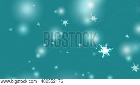 Snowflake Six Star Twelve Branch Short Thorn Wing Falling Ice Dust Particles Element For Christmas F