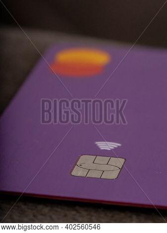 Purple Credit Card