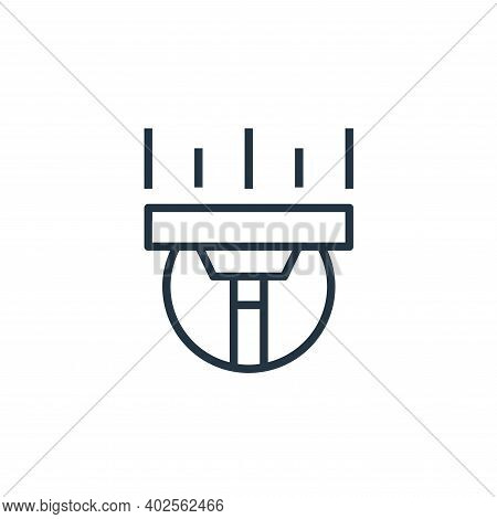 cleaning icon isolated on white background. cleaning icon thin line outline linear cleaning symbol f