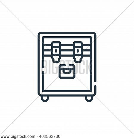 equipment icon isolated on white background. equipment icon thin line outline linear equipment symbo