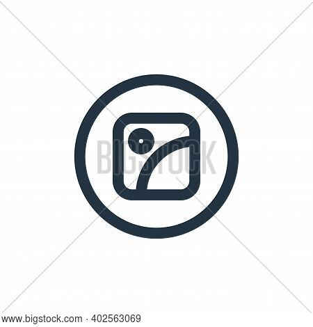 gallery icon isolated on white background. gallery icon thin line outline linear gallery symbol for