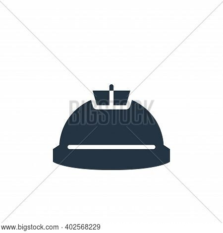 helmet icon isolated on white background. helmet icon thin line outline linear helmet symbol for log