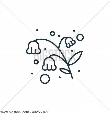 flowers icon isolated on white background. flowers icon thin line outline linear flowers symbol for