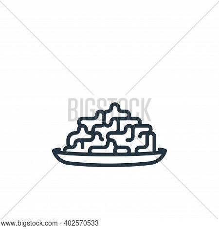 seaweed icon isolated on white background. seaweed icon thin line outline linear seaweed symbol for