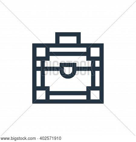 make up box icon isolated on white background. make up box icon thin line outline linear make up box