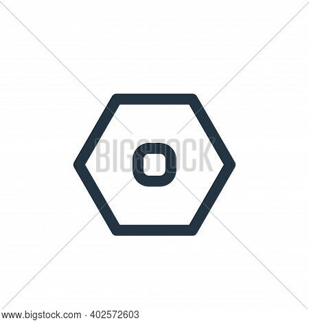 setting icon isolated on white background. setting icon thin line outline linear setting symbol for
