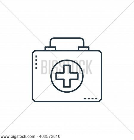 medical equipment icon isolated on white background. medical equipment icon thin line outline linear