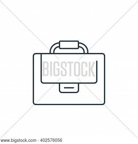 suitcase icon isolated on white background. suitcase icon thin line outline linear suitcase symbol f